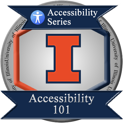 Accessibility 101 Badge