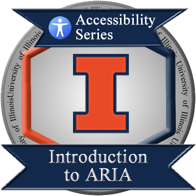 Intro to ARIA badge