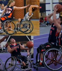 Illini Men and Women Wheelchair Basketball Home Games