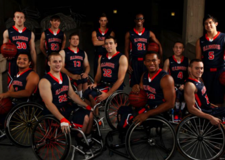 Men's Wheelchair Basketball team