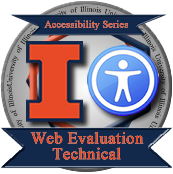 Web Eval Technical Badge