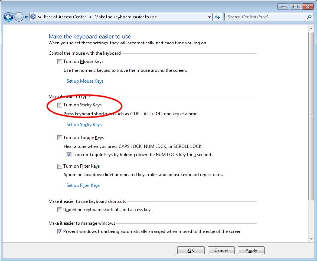 how to turn off pop ups on windows 7